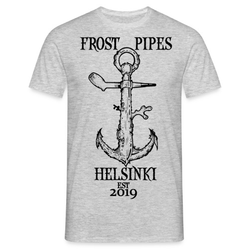 Frost Pipes Anchor - Men's T-Shirt