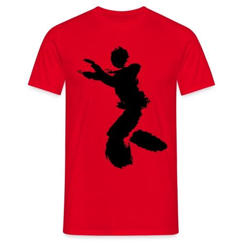Wing Chun / Kung Fu Tusche Figur VEKTOR - Men's T-Shirt
