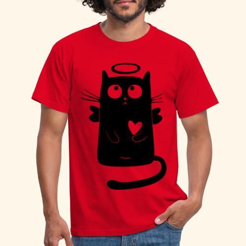 Gato angelical - Camiseta hombre