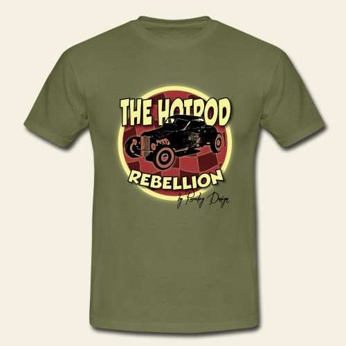 hotrod rebellion - Herre-T-shirt