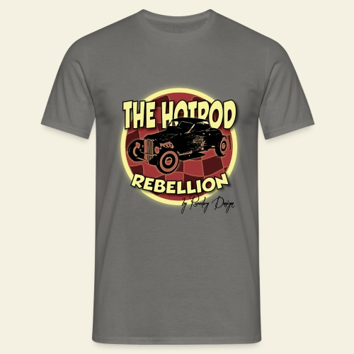 hotrod rebellion - Herre-T-shirt