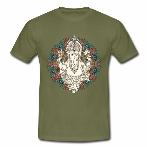 Ganesha - Herre-T-shirt