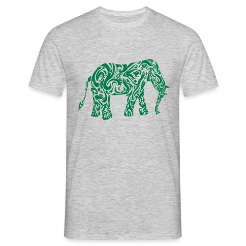 Tribal Eléphant - T-shirt Homme