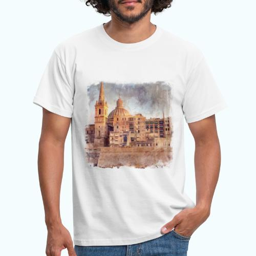 Valletta Malta Vintage Design - Men's T-Shirt