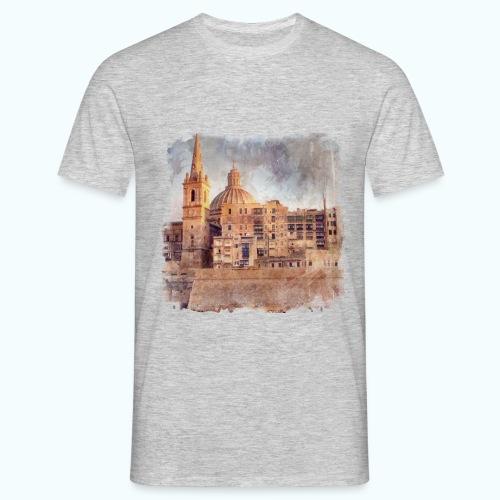 Valletta Malta Vintage Design - Men's T-Shirt