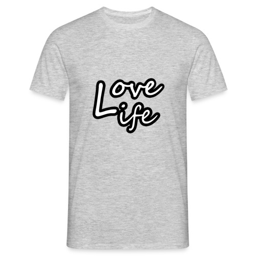 love life - T-shirt Homme