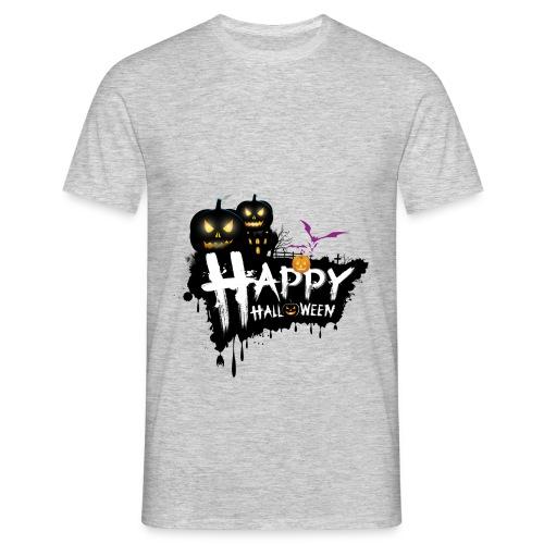 happy halloween - Men's T-Shirt