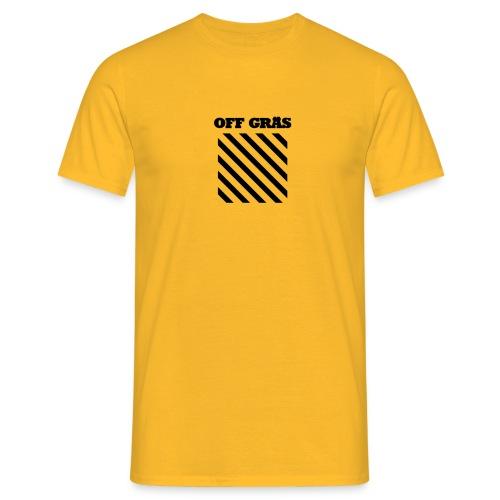 OFF GRÄS - T-shirt herr