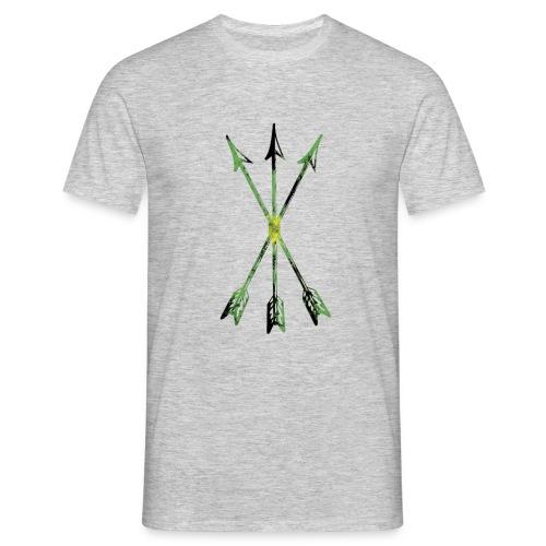 Scoia tael emblem green yellow black - Men's T-Shirt