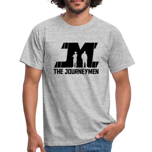 Black JourneyMen Logo - Men's T-Shirt