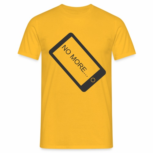 No More Smartphone - T-shirt Homme