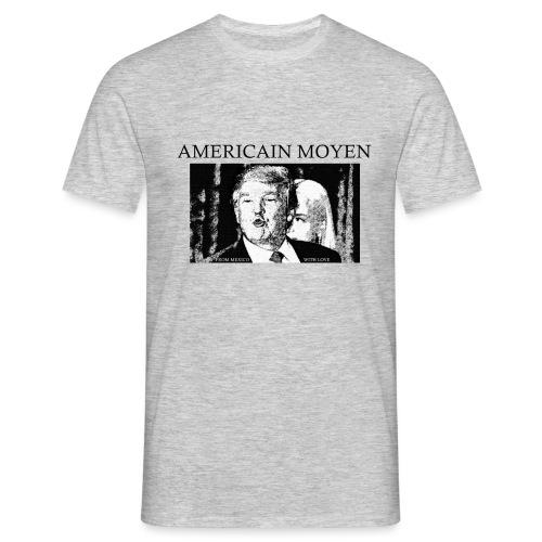 AMERICAIN MOYEN png - T-shirt Homme
