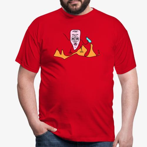 Mr. Bottleman - Männer T-Shirt
