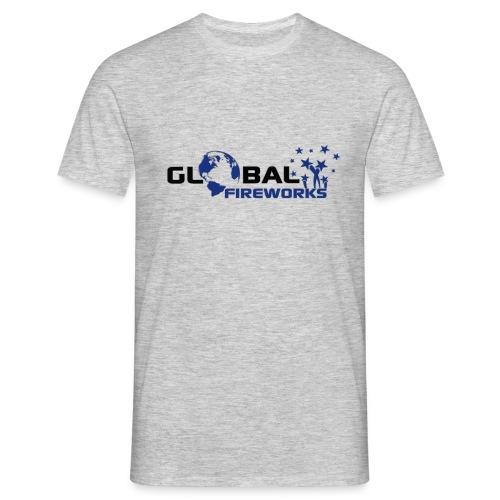 Global Fireworks - Männer T-Shirt