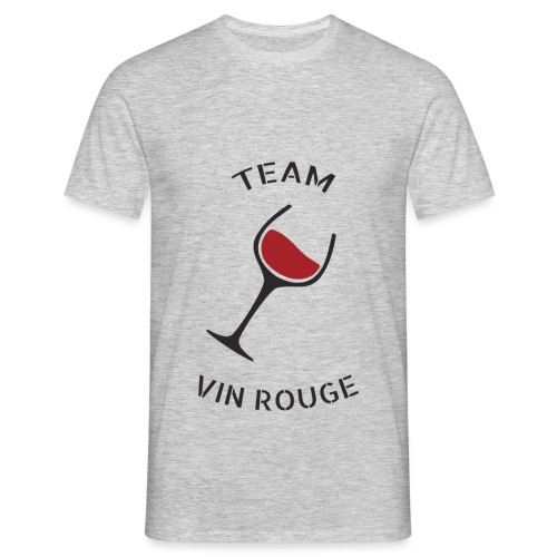 Team Vin Rouge - T-shirt - T-shirt Homme