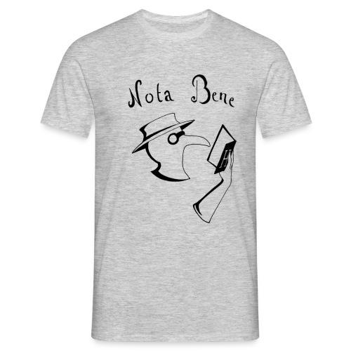 Nota Bene noir png - T-shirt Homme