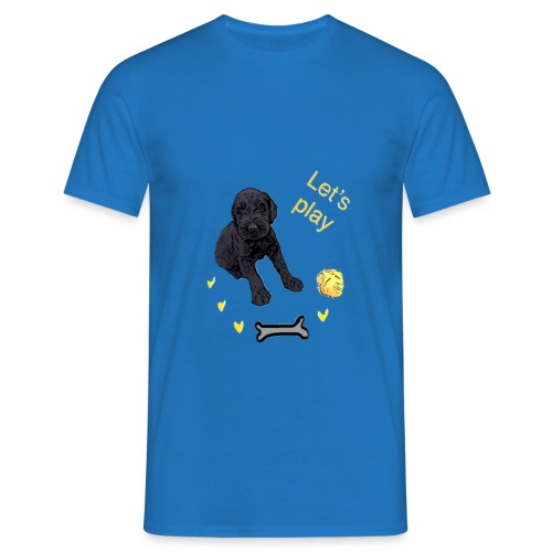 Giant Schnauzer puppy - Men's T-Shirt