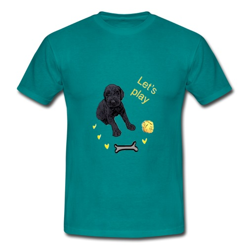 Giant Schnauzer puppy - Men's T-Shirt