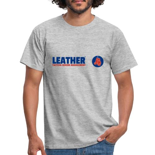 The LEATHER® Complete Logo - Horizontal - Men's T-Shirt