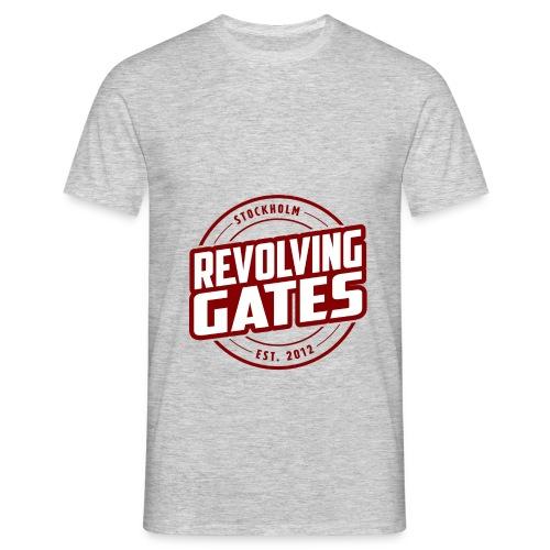 Revolving gates Stockholm est 2012 - Men's T-Shirt
