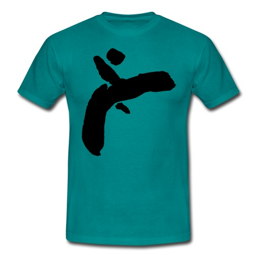 Martial Arts Kick - Slhouette Minimal Wushu Kungfu - Men's T-Shirt