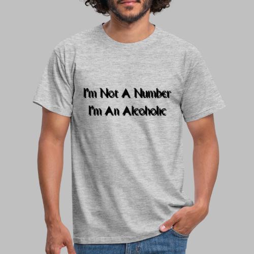 Alcoholic - Men's T-Shirt