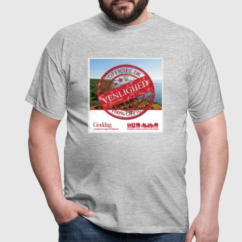 OFFICIAL DANE VENLIGHED png - Herre-T-shirt