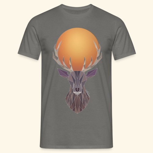 Roi Cerf Cendre - T-shirt Homme