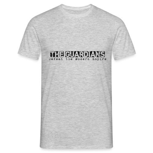 The Guardains Black - Men's T-Shirt