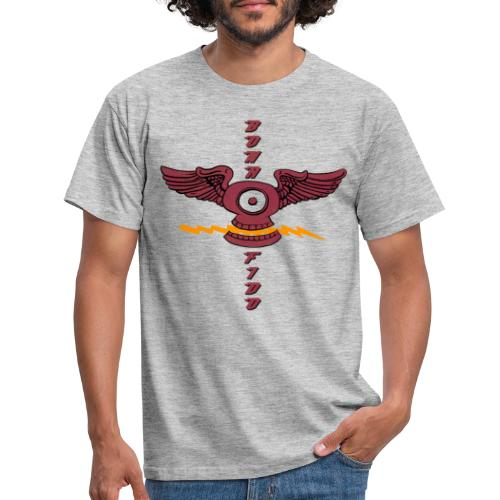 Bona Fido Flying Skull - Men's T-Shirt