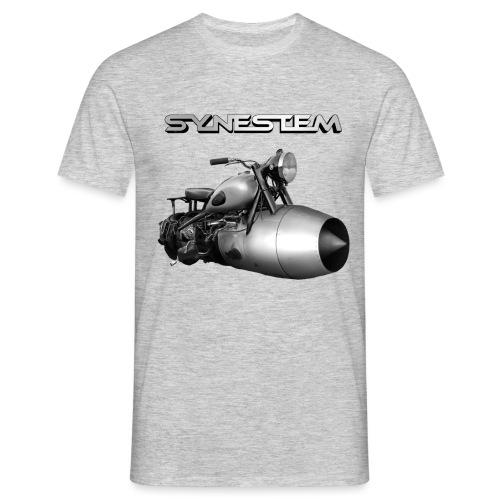 Synestem - Logo - Männer T-Shirt