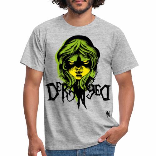 DerangeD - Tattoo Metal Horror Vampire - Herre-T-shirt