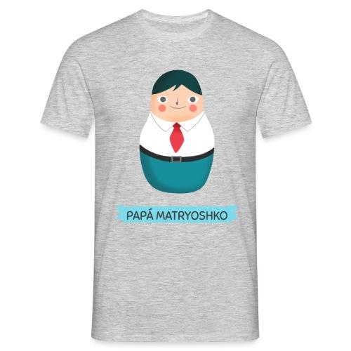 Papá Matryoshko | Muñeco Ruso Matrioskas - Camiseta hombre