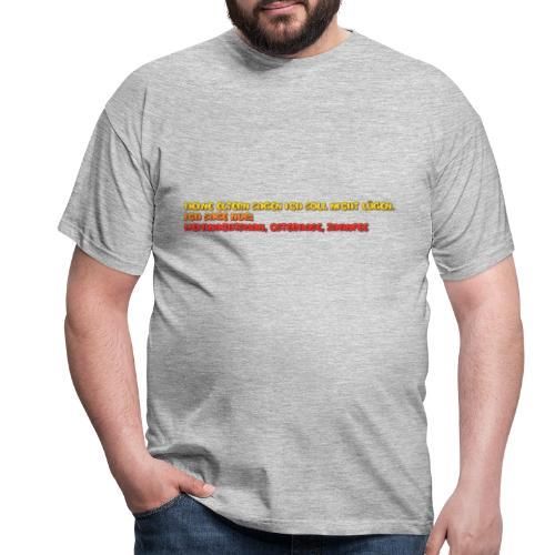 hahah - Männer T-Shirt