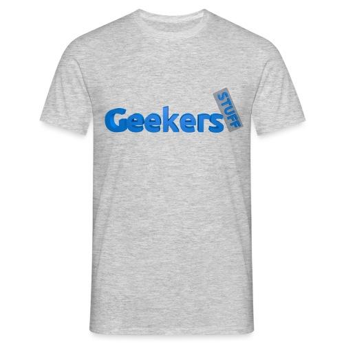 Geekers Logo png - Men's T-Shirt