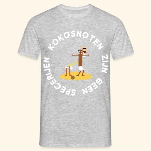 Kokosnoten zijn geen specerijen - Mannen T-shirt