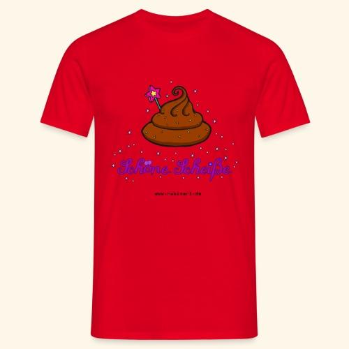 Schöne Scheiße Kacke - Männer T-Shirt