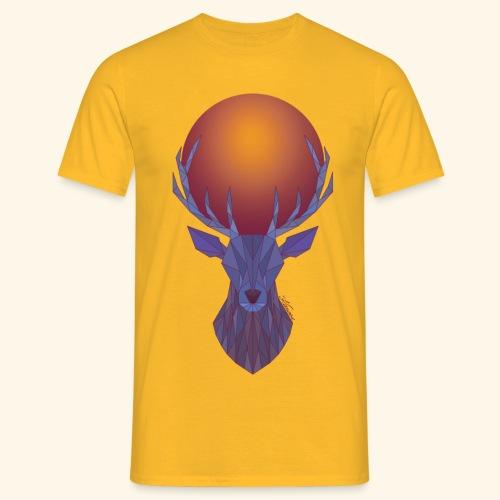 Roi Cerf Lunaire - T-shirt Homme