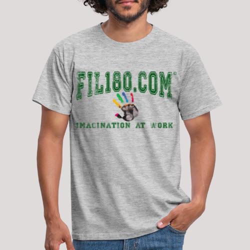 FIL180 HOODY GREEN - Men's T-Shirt