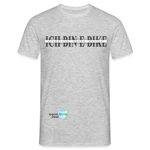 E-Bike WM 2019 Botschafter ICH BIN E-Bike - Männer T-Shirt