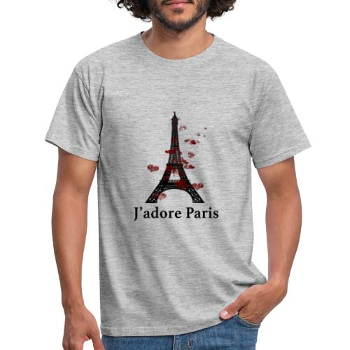 Design paris j'adore paris - T-shirt Homme