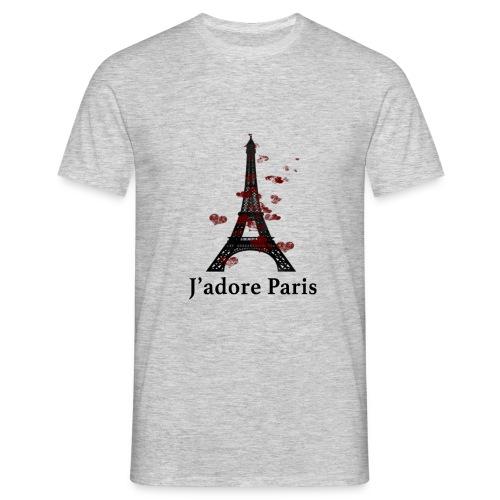 Design paris j'adore paris - T-shirt Homme