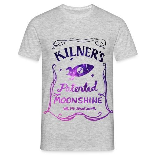 Kilner's Patented Moonshine (Stars Outline) - Men's T-Shirt
