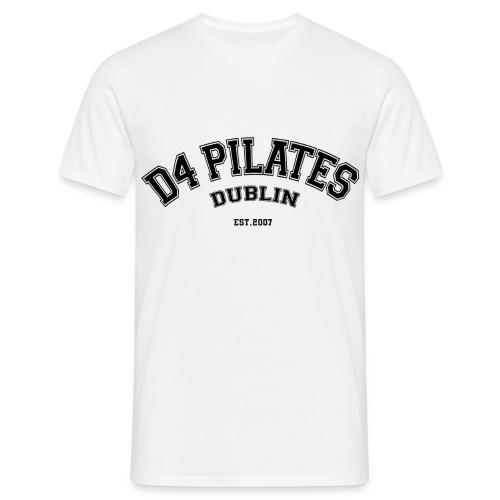 D4 Pilates - College style - Men's T-Shirt