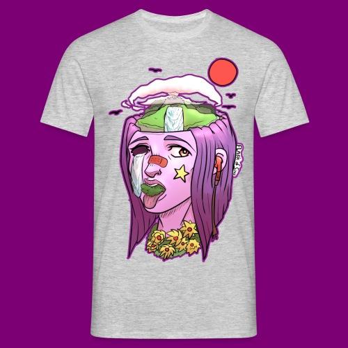 Pink Girl - Mannen T-shirt