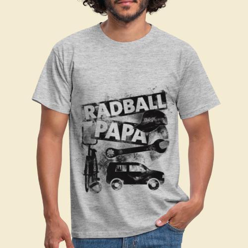 Radball | Papa - Männer T-Shirt