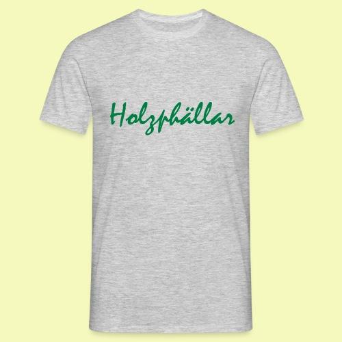 Schriftzug Grün - Männer T-Shirt