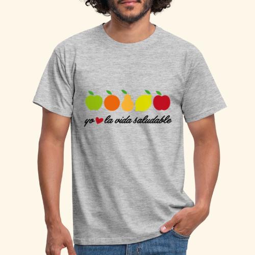 La vida saludable - Camiseta hombre