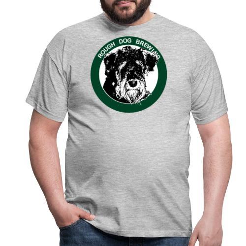 Rough Dog Brewing 2019 logotype - T-shirt herr
