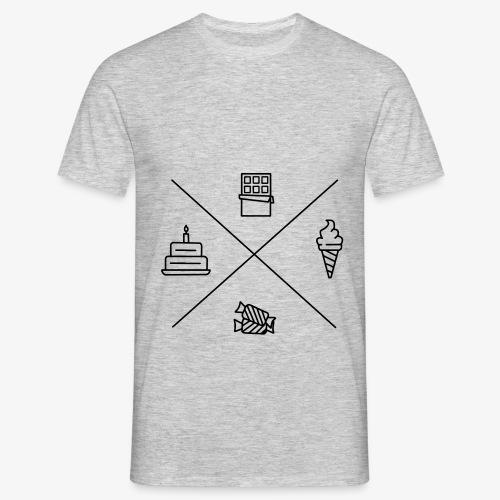 Süßigkeiten - Männer T-Shirt